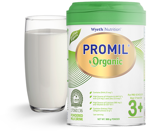 Promil Organic > Brands (previous revision)